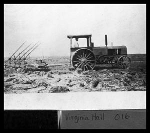 Primary view of object titled 'Mads Andersen Rumley Tractor'.
