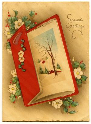 Primary view of object titled 'Christmas Card'.