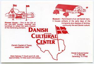 Primary view of object titled '[Danish Cultural Center Postcard]'.