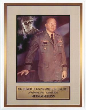 Homer Duggins Smith, Jr., United States Army Retired