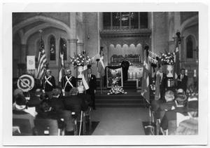 Primary view of object titled '[Memorial Service for King Charles X]'.