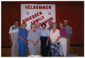 Primary view of object titled 'Hans & Anna Andersen Family Reunion'.