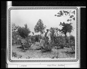 Primary view of object titled 'Johanna and P.J.A. Petersen in Rose Garden'.