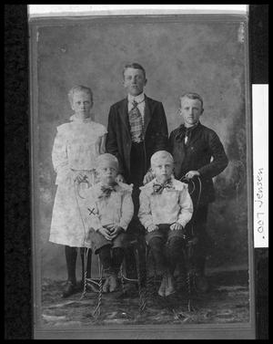 Primary view of object titled '[Jensen Children]'.