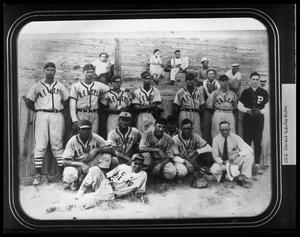 Primary view of object titled '[1937 Talco Ball Club of East Texas]'.