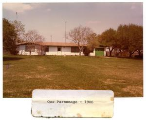 Primary view of object titled 'Church Parsonage'.