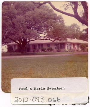 Primary view of object titled 'Fred & Marie Swendsen Home'.