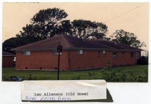 Primary view of object titled 'Leo Allenson/Keith Bram Home'.