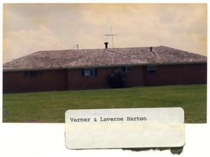 Primary view of object titled 'Verner and Laverne Harton Home'.
