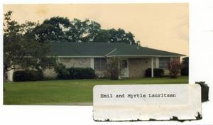 Primary view of object titled 'Emil & Myrtle Lauritsen Home'.