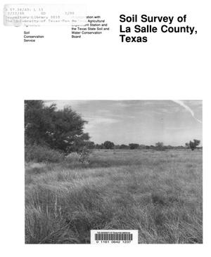 Primary view of object titled 'Soil Survey of La Salle County, Texas'.