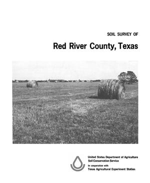 Primary view of object titled 'Soil Survey of Red River County, Texas'.