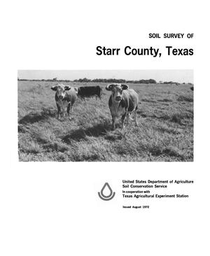 Primary view of object titled 'Soil Survey of Starr County, Texas'.