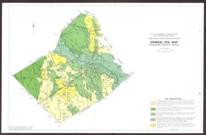 General Soil Map, Wharton County, Texas