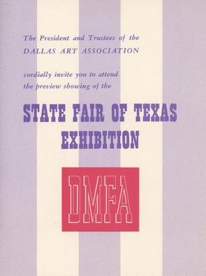 Primary view of object titled '[14th Annual Exhibition of Texas Painting and Sculpture invitation]'.