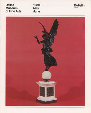 Primary view of object titled 'Dallas Museum of Fine Arts Bulletin, May-June 1980'.
