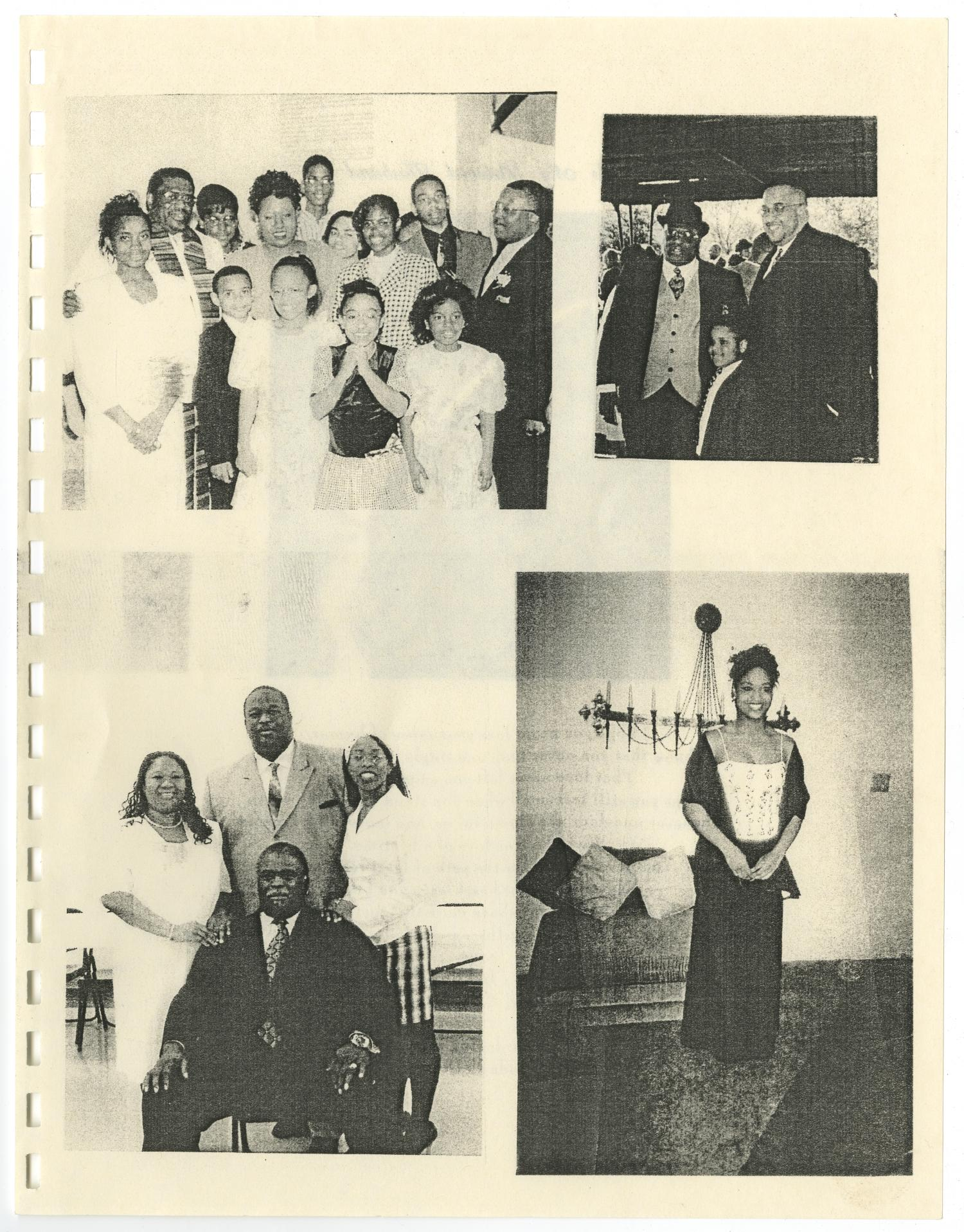 [Funeral Program for A. Bernard Devers I, December 16, 2009]                                                                                                      [Sequence #]: 9 of 12