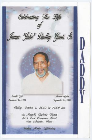 [Funeral Program for James Dudley Gant, Sr., October 1, 2010]
