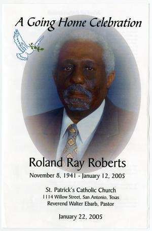 [Funeral Program for Roland Ray Roberts, January 22, 2005]