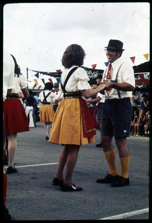 Primary view of object titled '[German Folk Dancers]'.