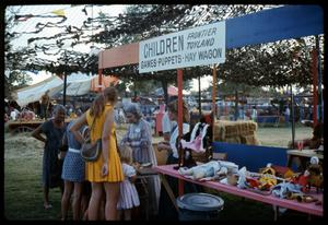 Primary view of object titled '[Frontier Children's Toyland Booth]'.