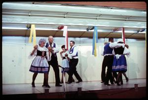 Primary view of object titled '[Czech Folk Dancing]'.