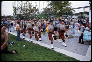 Primary view of object titled '[Alamo City Highlanders Pipe Band Marches]'.