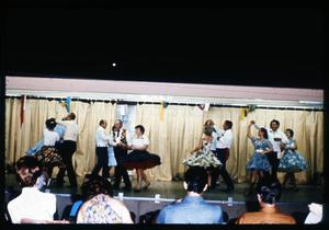 Primary view of object titled '[San Antonio Square Dance Association Performing]'.
