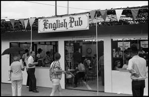 Primary view of object titled '[English Pub Booth]'.