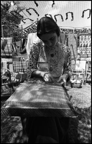 [Weaving Demonstration]