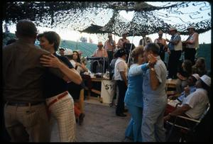 Primary view of object titled '[Festival Participants Dancing to Live Music]'.