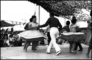 Primary view of object titled '[Alamo Area Square Dancers Performing]'.