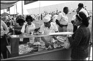 African american food booth serving soul food the for African american cuisine history