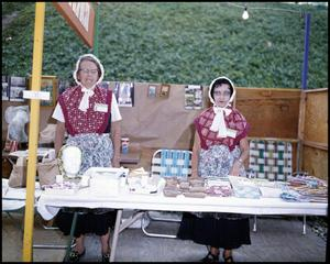 [Women Operating Wendish Booth]