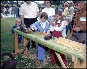 Primary view of object titled '[Children Using Tools With John H. Corner]'.