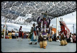 Primary view of object titled '[Alabama-Coushatta Performance]'.