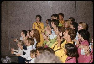 Primary view of object titled '[San Antonio Jewish Community Center Choir Performance]'.