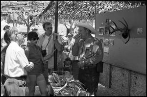 Primary view of object titled '[Bob Ramsey at the 4th AnnualTexas Folklife Festival]'.