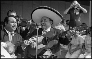 Primary view of object titled '[Los Conquistadores Mariachi Band]'.
