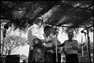 Primary view of object titled '[Wendish Choir Performing at the Texas Folklife Festival]'.