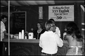 Primary view of object titled '[English Pub at the Texas Folklife Festival]'.