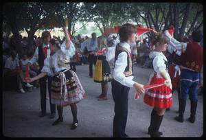 [Czech-Moravian Beseda Dancers Performing at the Texas Folklife Festival]