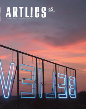 Primary view of Art Lies, Volume 45, Winter 2005