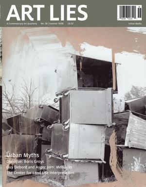 Primary view of Art Lies, Volume 58, Summer 2008