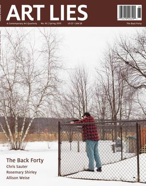 Primary view of Art Lies, Volume 65, Spring 2010