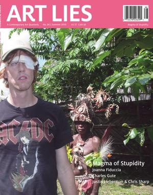 Primary view of Art Lies, Volume 66, Summer 2010