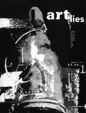 Primary view of object titled 'Art Lies, Volume 1, March 1994'.
