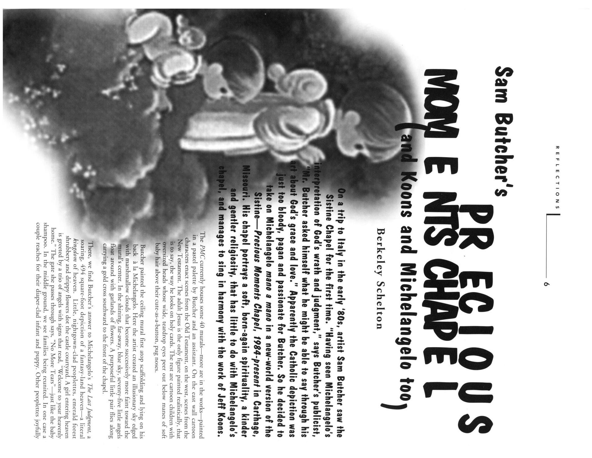 Art Lies, Volume 1, March 1994                                                                                                      6