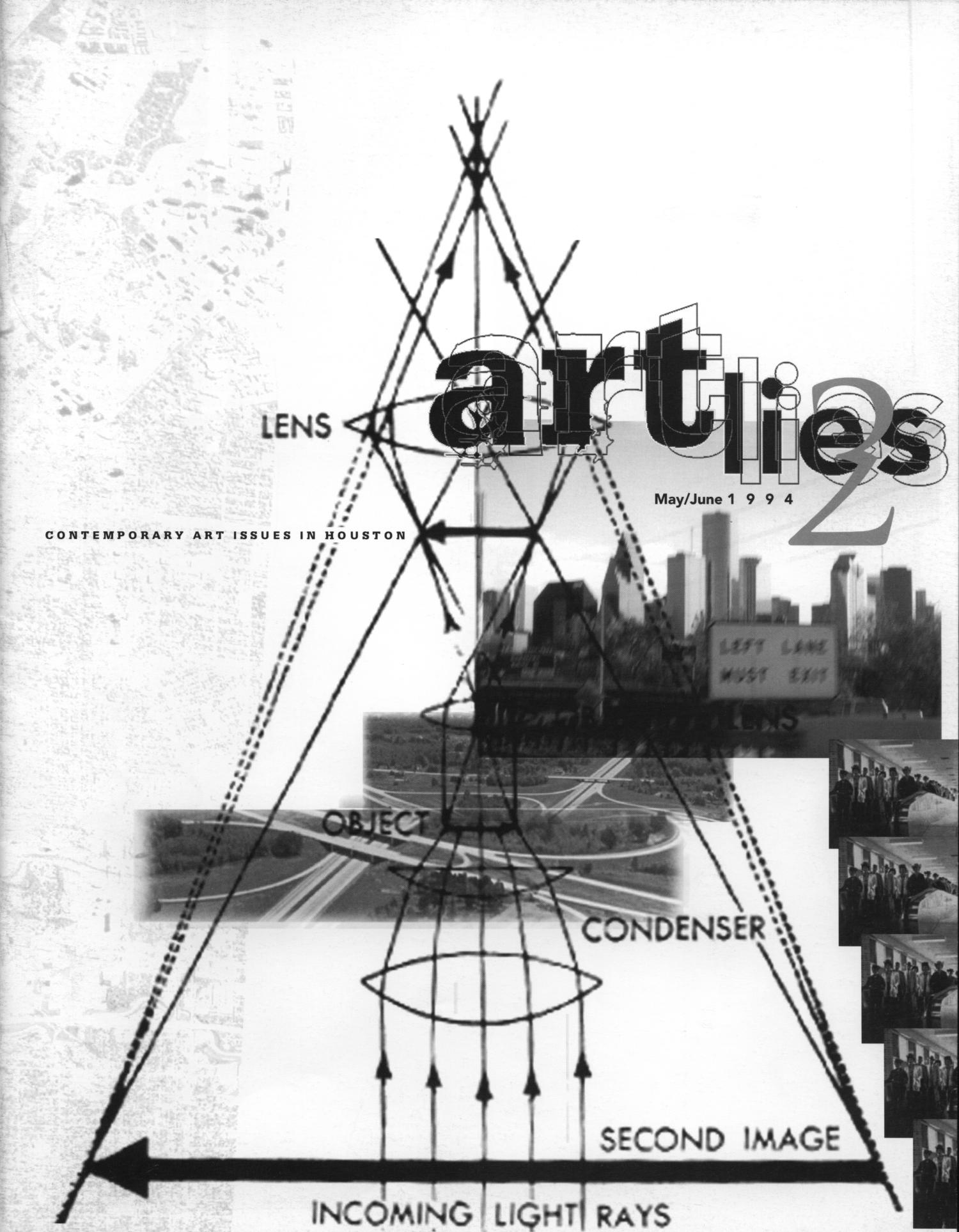 Art Lies, Volume 2, May-June 1994                                                                                                      Front Cover