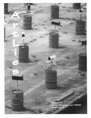 Primary view of Art Lies, Volume 11, June-September 1996